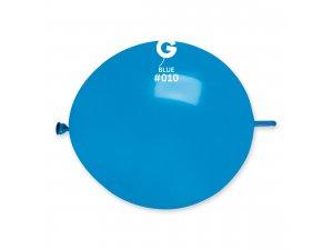 "Balónek spojovací 30cm/12"" #010 modrý (100ks/bal)"