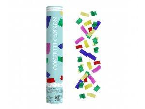 Konfety vystřelovací k barevný mix 30 cm