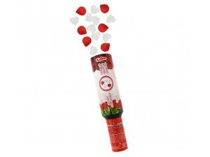 Konfety vystřelovací růže mix 30 cm