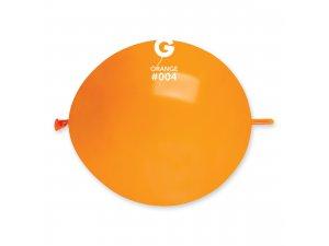 """Balónek spojovací 30cm/12"""" #004 oranžový (100ks/bal)"""
