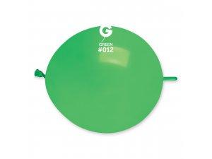 """Balónek spojovací 30cm/12"""" #012 zelený (100ks/bal)"""