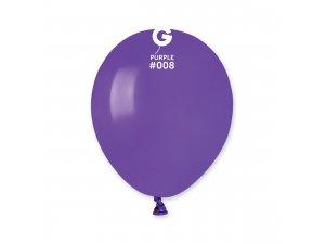 """Balónek 13cm/5"""" #008 fialový"""