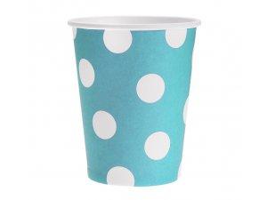 Kelímek papírový modrý 6ks