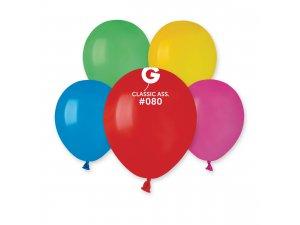 """Balónek 13cm/5""""  #080 barevný mix"""
