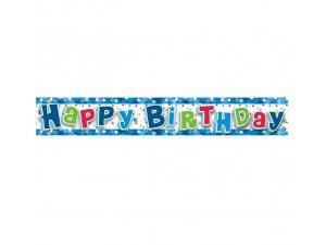 Girlanda narozeniny modré