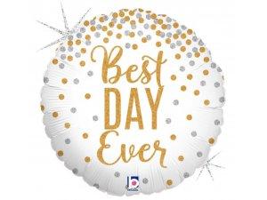 """18"""" Třpytivé Best-Day-Ever"""