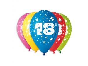 """OB balónky GS110 """"18"""" (5ks)"""