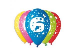 """OB balónky GS110 """"6"""" (5ks)"""