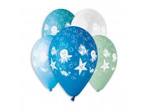 OB balónky GS110 MOŘE (5ks)