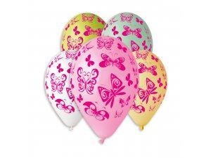 OB balónky GS110 MOTÝL (5ks)