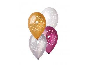 OB balónky GS110 SVATBA (5ks)