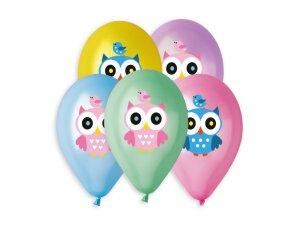 OB balónky GS120 SOVIČKA (5ks)