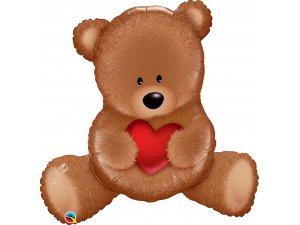 """35"""" Fóliový balónek - Medvídek TEDDY"""