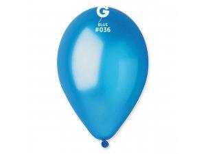 """Balónek 26cm/10"""" #036 modrý"""