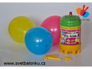 Helium plynová jednorázová láhev 1,0 Ltr