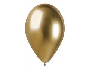 """Balónek 33cm/13"""" #088 zlatý lesklý"""
