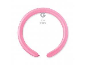 Balónek modelovací #006 růžový (100ks/bal)
