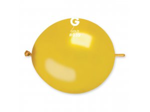 "Balónek spojovací 30cm/12"" #039 zlatá (100ks/bal)"