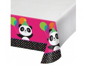 "Ubrus plastový ,,panda""  137x259 cm"