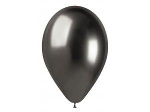 """Balónek 33cm/13"""" #090 vesmírně šedý lesklý"""