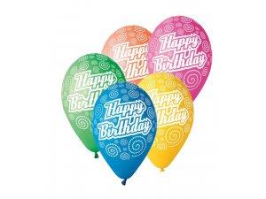 Balónek pastel 30 cm HB2 potisk (100ks/bal)