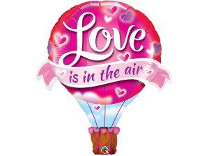 """42"""" fóliový balónek - Láska je ve vzduchu"""