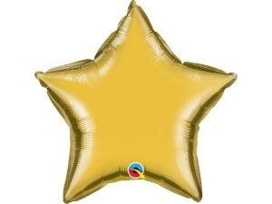 """20"""" balónek hvězda zlatá"""