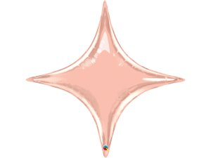 """20"""" fóliový balónek -  Starpoint růžovozlatý"""