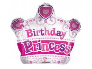 Koruna 46cm BIRTHDAY princezna