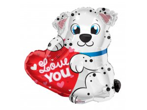 Dalmatin 51cm Love you