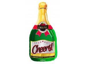 Balónek 91cm -  Champagne láhev