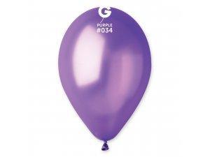"""Balónek 26cm/10"""" #034 fialový"""