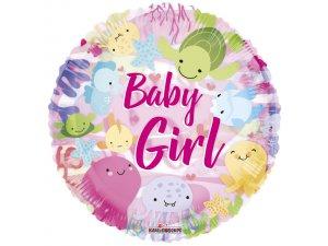 Kruh 46 cm - Mořský svět baby girl
