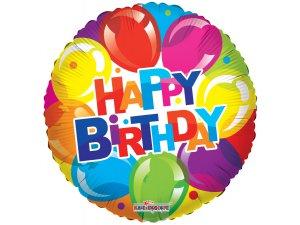Kruh 46cm - Balónkové narozeniny