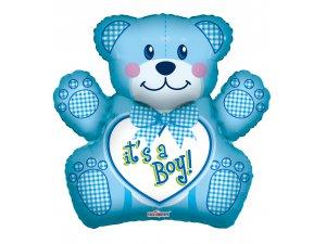 Balónek 71cm - Medvídek Je to kluk!