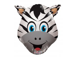 Balónek 35cm - Zebra