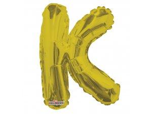 Písmeno K zlaté malé 35 cm