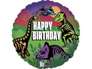 """18"""" kruh - Jurassic narozeniny"""