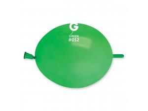 """Balónek spojovací 16cm/6"""" #012 zelený (100ks/bal)"""