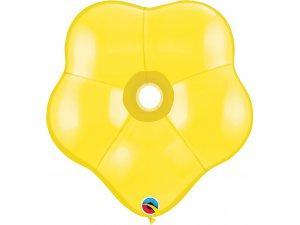 """06"""" Balónek Qualatex KVÍTEK žlutý (50 KS)"""
