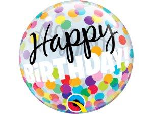 """12"""" bublina na vzduch - HAPPY BDAY!"""
