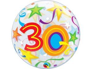 """22"""" bublina - hvězdy 30"""