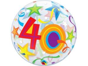 """22"""" bublina - hvězdy 40"""