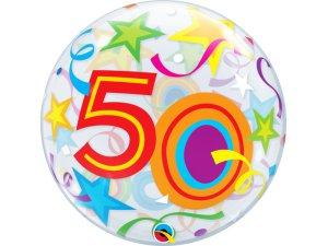 """22"""" bublina - hvězdy 50"""