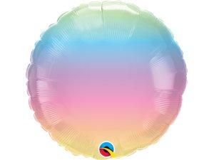 """18"""" balónek - Pastelový přeliv"""