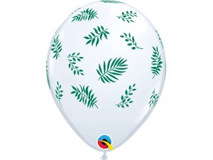 """11"""" balónek - Tropická zeleň (25ks v balení)"""