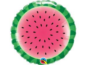 """18"""" foliový balónek kruh - Vodní meloun"""