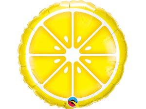 """18"""" foliový balónek kruh - Citron"""