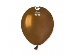 """Balónek 13cm/5"""" #048 hnědý"""