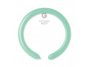 Balónek modelovací #077 mint zelený (100ks/bal)
